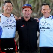 Taranaki Toa triathletes train with some of the world's best