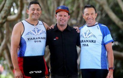 Taranaki Toa triathletes train with some of the world's best