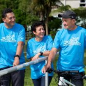 Participation, rather than competition, key to amateur triathlon in Waitara